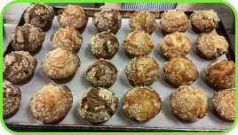 "We add a new specials to our ""Specials"" tab every weekday morning before 10:00am. - Muffins"